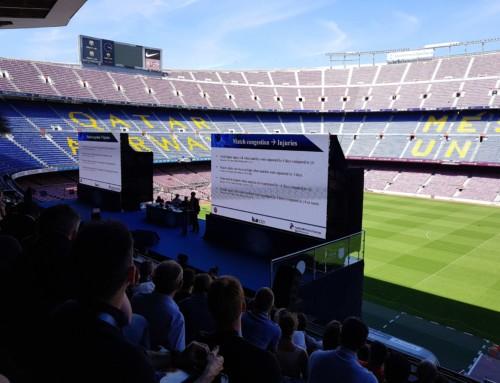 Football Medicine Conference i Barcelona – en fantastisk, lærerik opplevelse!